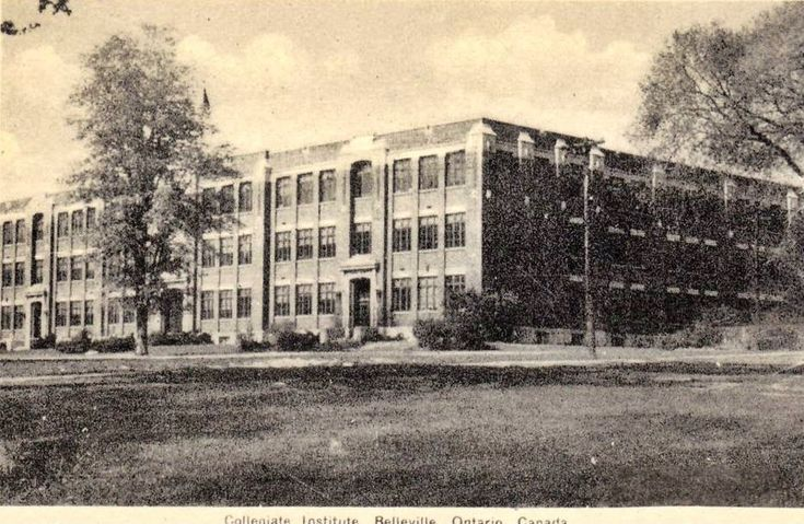 The old BCI high school, Belleville Ontario Church St.