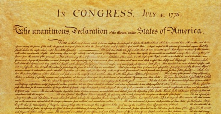 The Fourth of July, the day we celebrate the signing in 1776 of the Declaration of Independence from the rule of England and the king. The day that our forefathers informed the king that their basi…