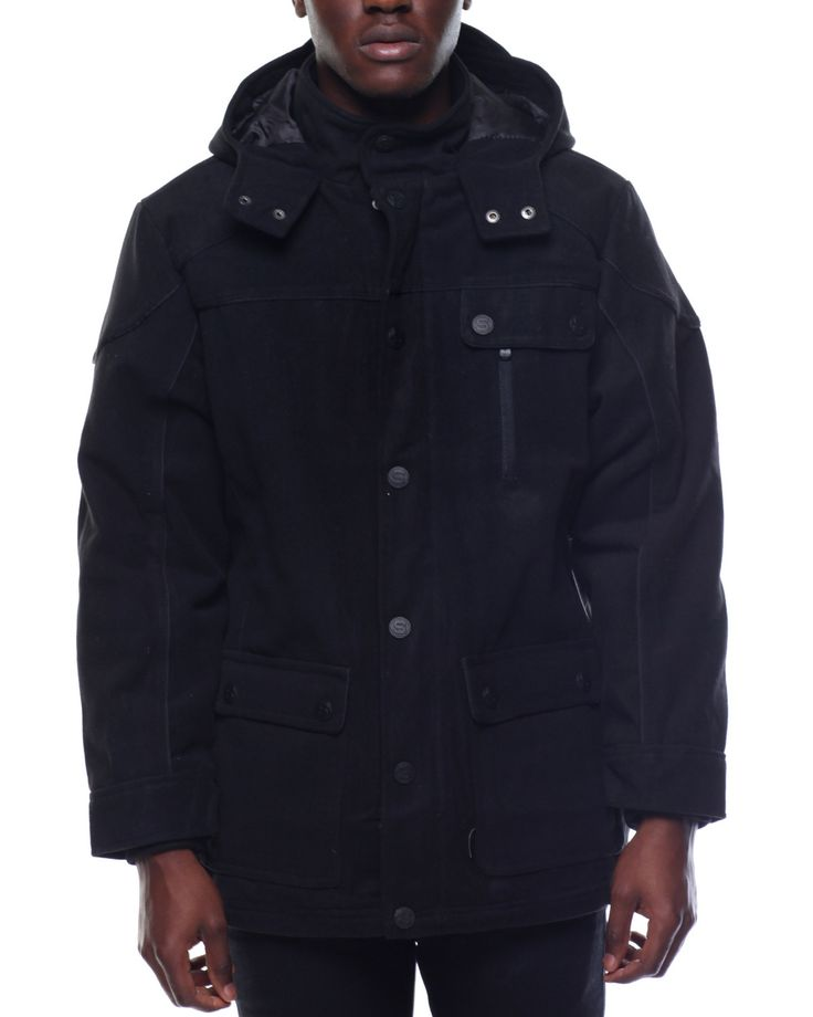 17 Best ideas about Black Parka Coat on Pinterest | Black parka ...