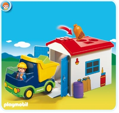 Playmobil 123 Garage