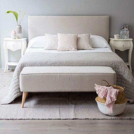 Las 25 mejores ideas sobre cabeceros tapizados en - Cabeceros de cama vintage ...