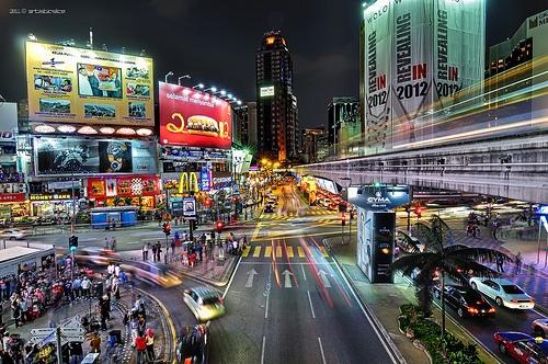 """living through the nite""  Location: Bukit Bintang, Kuala Lumpur, Malaysia"