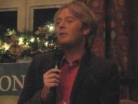 clay aiken at golfing for inclusion singing get here - YouTube