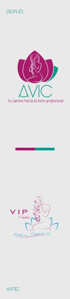 La empresa española Academia Vip Center nos contrató para la realización del rediseño del logotipo de la marca, para acompañar la reestructuración de la empresa y  lograr un mejor posicionamiento en el mercado.  Rediseña la imagen de tu empresa con Liderlogo www.liderlogo.com