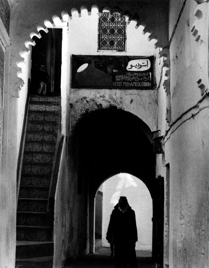 Paul Strand: Street, Tetuan, Morocco, 1962