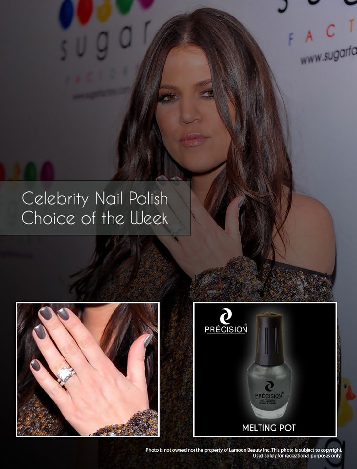 9 best Celebrity Nail Polish Choice of the Week images on Pinterest ...