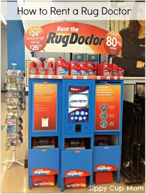 How To Rent A Rug Doctor Machine