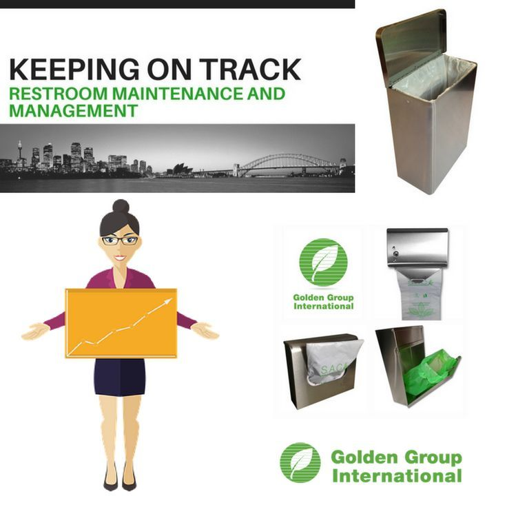 S.A.C. restroom hardware and supplies to help keep your maintenance on track. Reduce plumbing clogs and expensive emergency plumbing call outs by using S.A.C. sanitary napkin, tampon disposal bins, bag dispensers and do not flush signs. Visit www.GoldenGroupInternational.com