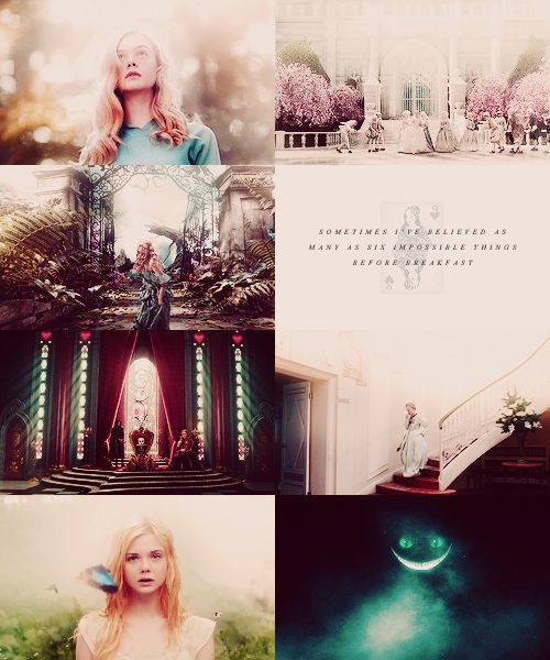 Fairytale → real life: Alice In Wonderland Elle Fanning as Alice