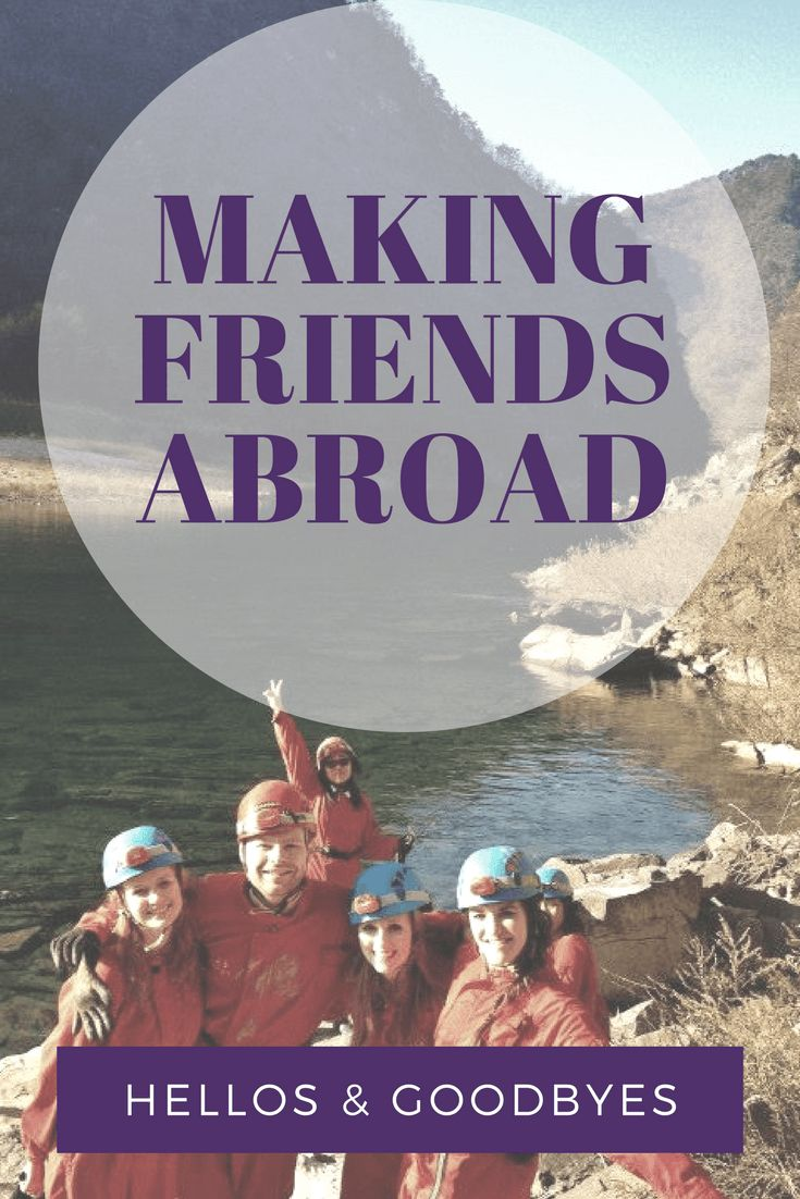 As an expat you find yourself meeting tons of new people all the time. You make these amazing connections and friendships with people from all over the world. With teaching and travelling, I love the opportunities that I get to meet these people. However,