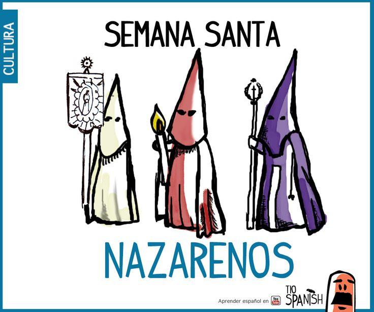 Los Nazarenos, celebración semana santa en Sevilla, fiestas de España ( haz clic para ver el video)
