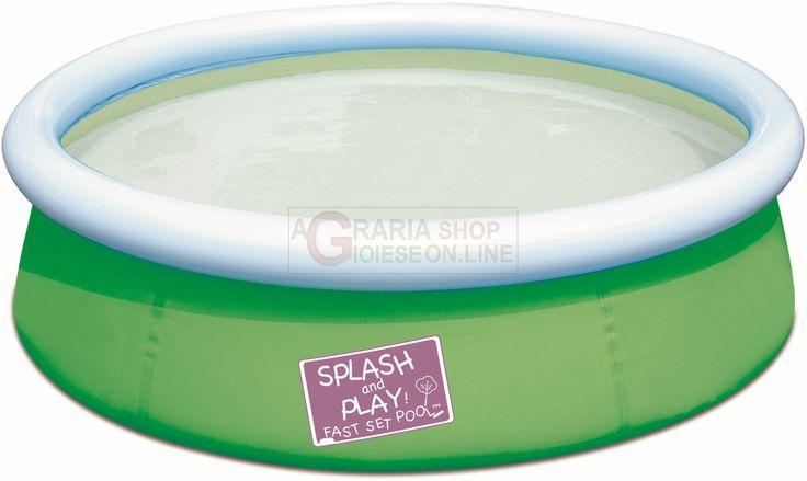 BESTWAY 57241 PISCINA TONDA PICCOLA PER BAMBINI CM. 152x38h http://www.decariashop.it/piscine-per-bambini/20793-bestway-57241-piscina-tonda-piccola-per-bambini-cm-152x38h.html
