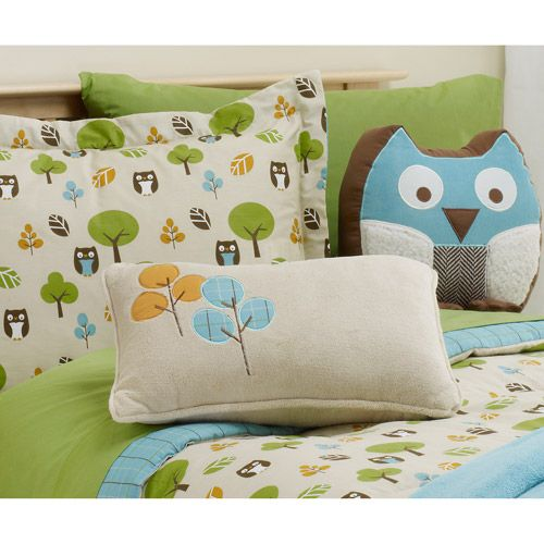 Bkids In The Forest Owls Kids Bed Sheet Set Walmart Com
