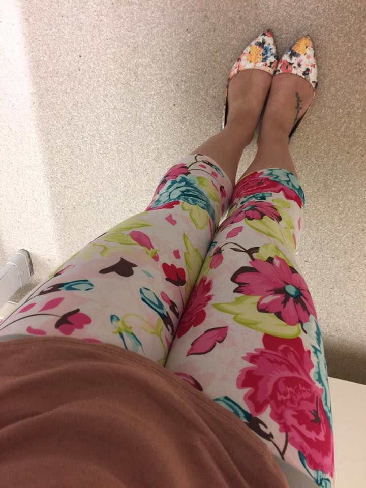 Sun Drenched SweetLegs! Beautiful with a pair of floral flats.