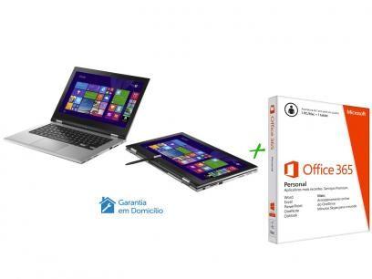 Notebook 2 em 1 Dell Inspiron 13 I13 7348 B20 - Windows 8.1 + Pacote Aplicativo Office com as melhores condições você encontra no Magazine Siarra. Confira!