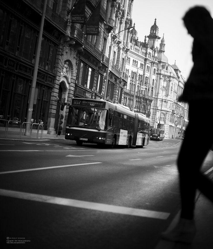 Budapest utcai fotózás.