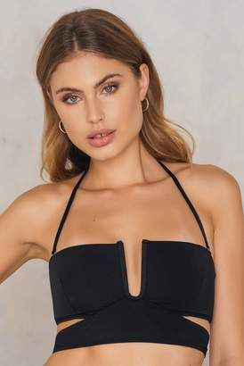 2e89f40e6a Less Is More Cutted Bikini Top  bikini  twopiece  sale