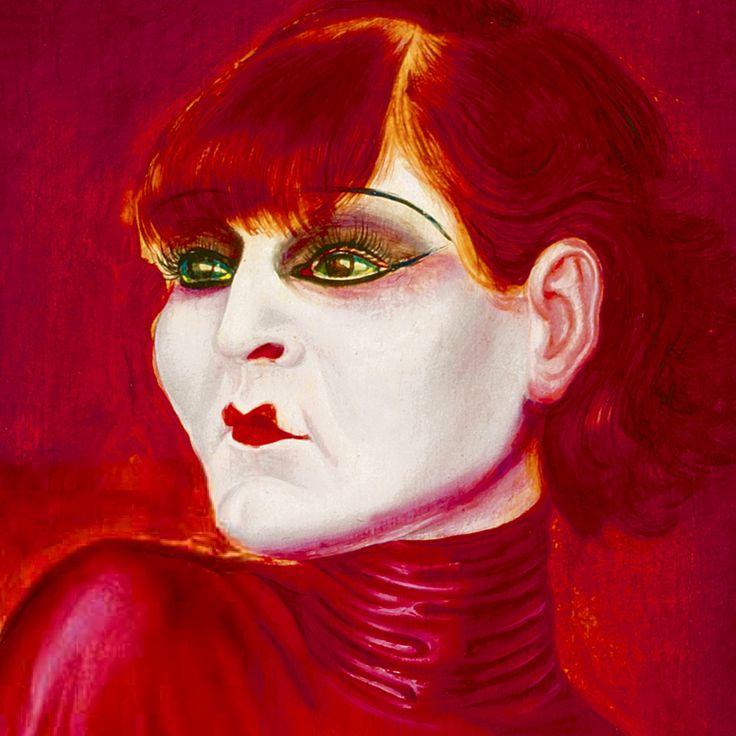 OTTO DIX. Bildnis der Tänzerin Anita Berber (detalle). 1925.