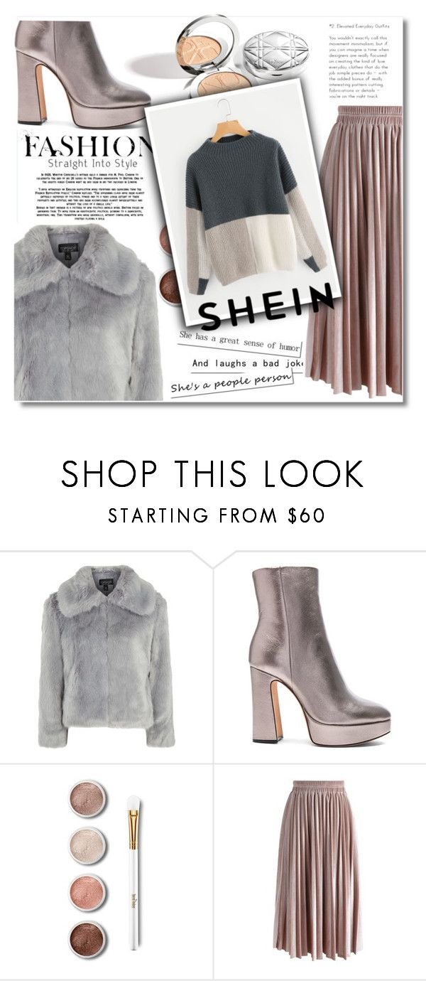 """""""Beautiful (Shein)"""" by alina-only21 ❤ liked on Polyvore featuring Topshop, Alexandre Birman, Terre Mère and Chicwish"""