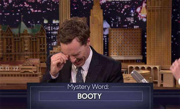 Benedict Cumberbatch- The Imitation Game star was playing Three Word Stories with US chat show host Jimmy Fallon last night