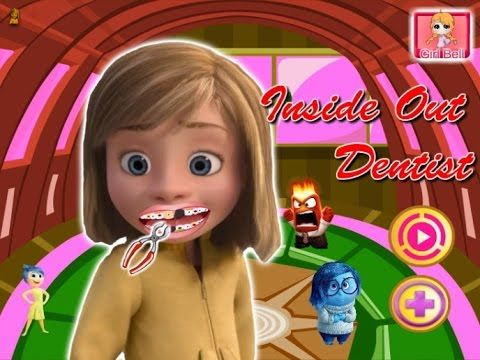 Inside Out - Riley Tooth Problems - Game Tutorial 2016