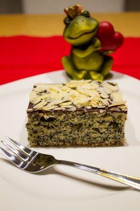 Mohn-Mandelkuchen vom Blech mit Schokolade | Stadt-Land-Food