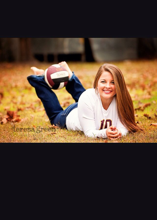 volleyball senior picture ideas for girls sports senior