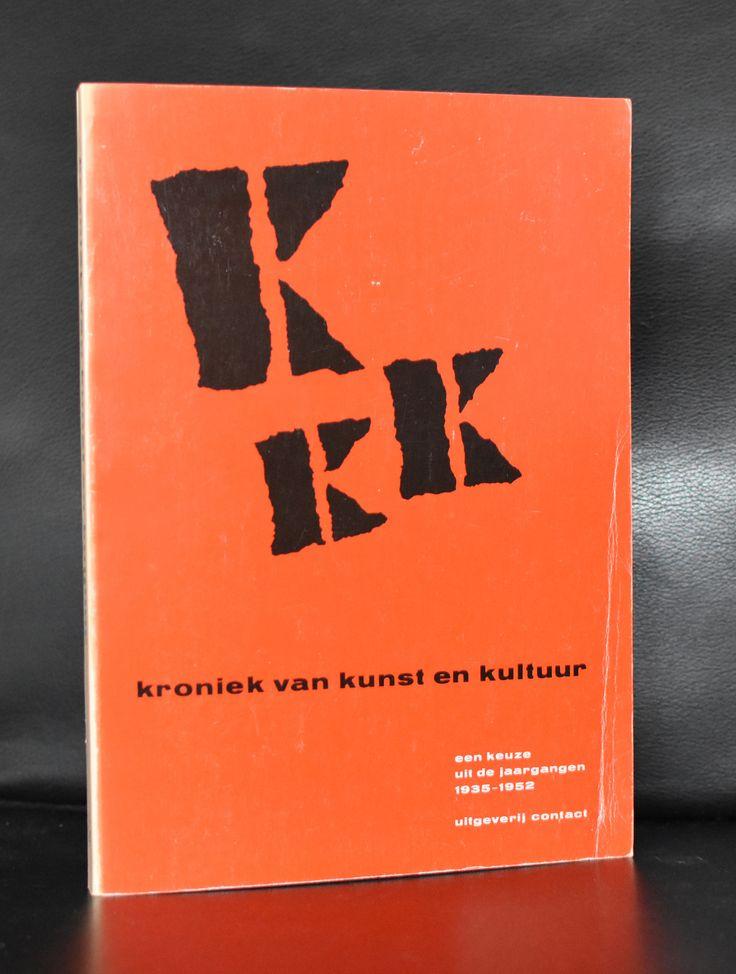 Willem Sandberg # KRONIEK VAN KUNST EN KULTUUR # 1977, nm