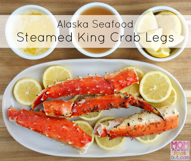 It's so easy to steam King Crab legs at home for a delicious healthy seafood dinner. Recipe and directions. ad