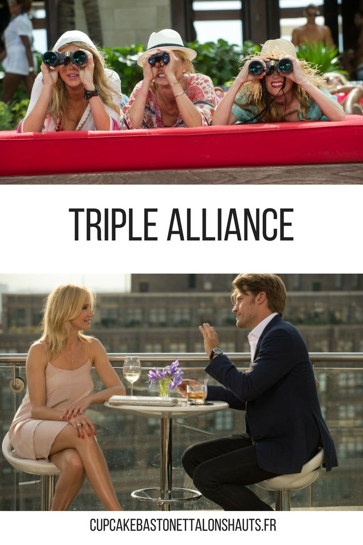 Triple Alliance - Cupcake, Baston et Talons Hauts