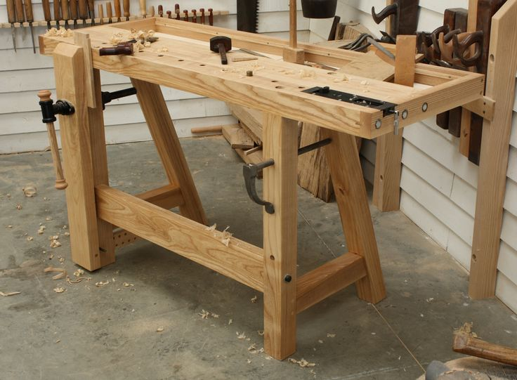 small woodworking bench the 39 little john 39 hand tool. Black Bedroom Furniture Sets. Home Design Ideas