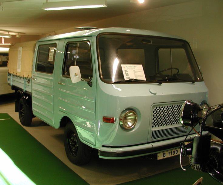"""ddr barkas   Barkas B1000 """"Petermännchen"""" einer von drei Prototypen des B 1100 ..."""