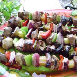 California Kabobs Allrecipes.com  I love this recipe! Do this every summer at least twice!