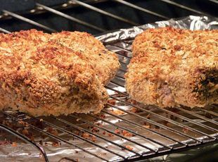 Donna's Low-Fat Oven Baked Pork Chops Recipe | Just A Pinch Recipes