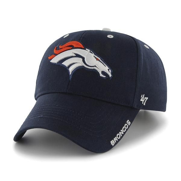 Denver Broncos Frost Navy 47 Brand Adjustable Hat