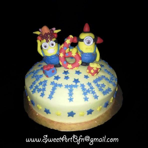 MINION CAKE (Bloemfontein Cake)