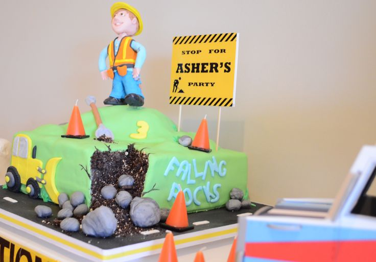 "A ""How To"" Construction & Truck Birthday Party 