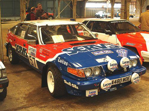 Rover SD1 Rally Car