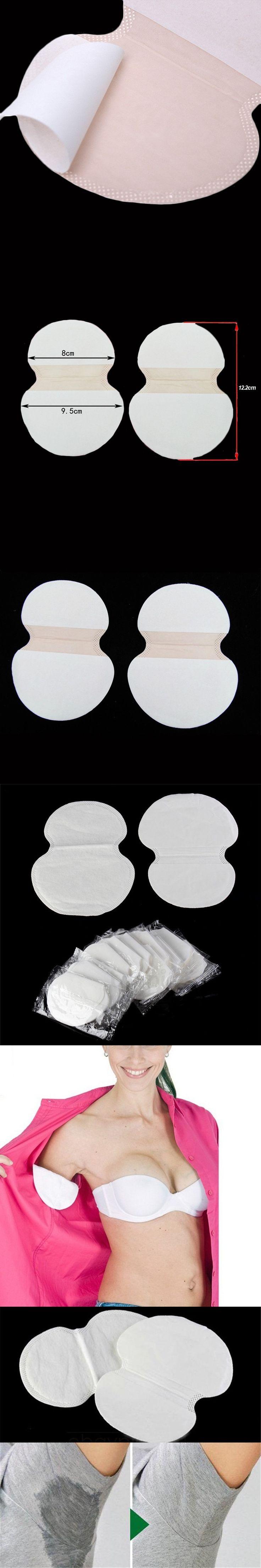 400pcs=200Pairs/lot Cotton Sweat Pads For Underarm Sweat Disposable Armpits Anti Perspirant Pad Deodorant For Men Women New