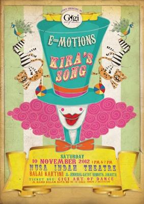 Poster for E-motions: Kira's Song  November 2012