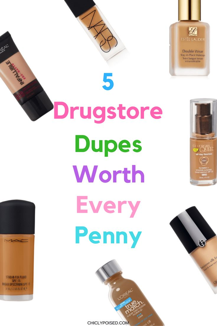 5 Foundation Dupes Worth Every Penny | Chiclypoised.com