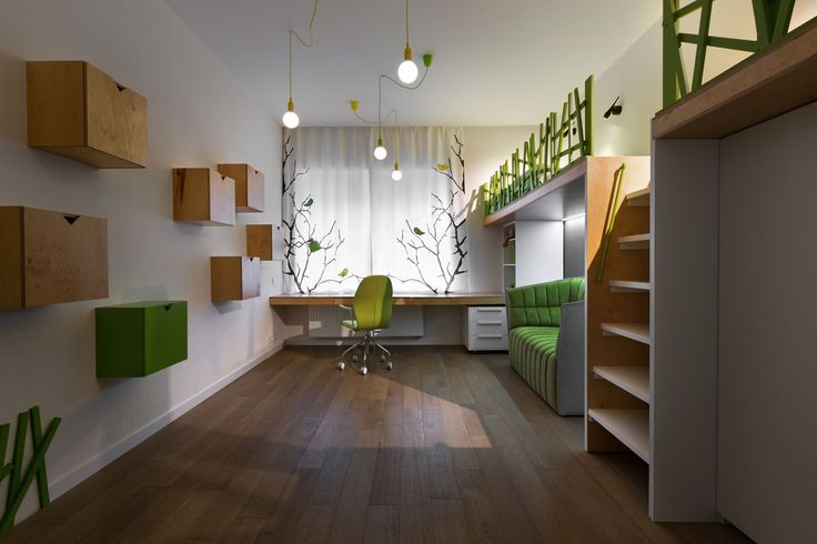 Contemporary Family House CUBE - Picture gallery