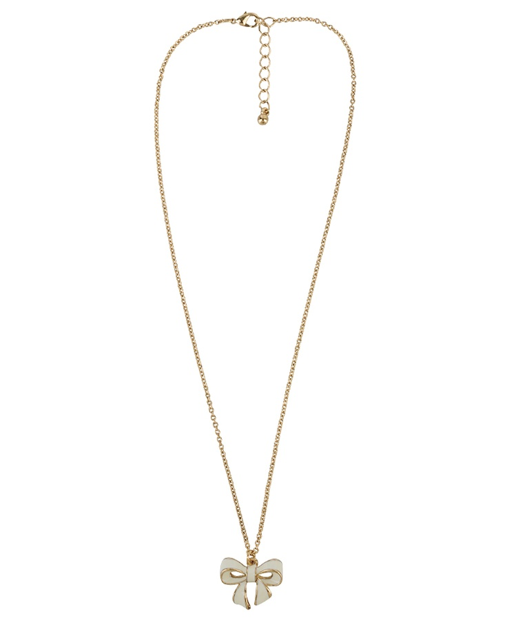 Bow Charm Necklace | FOREVER21 - 1011386171