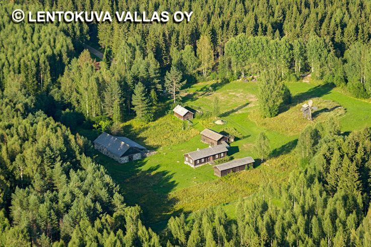 Maaseudun asutusta, Savonlinna Ilmakuva: Lentokuva Vallas Oy