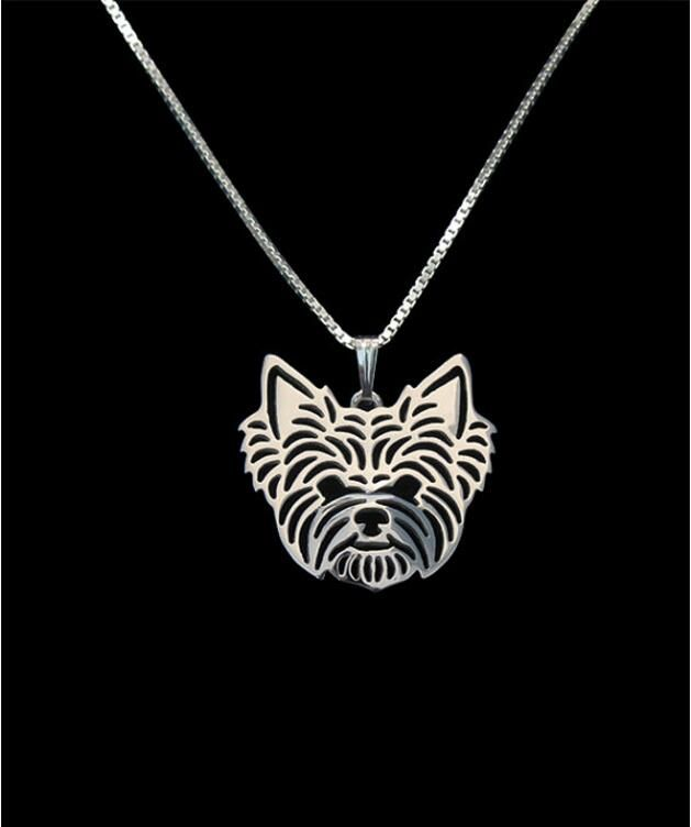 Original Price US $22.77 Sale Price US $13.89 Unique Handmade Boho Chic Yorkshire Terrier Necklace Female and Male Gift Jewelry Necklace 12pcs Lot 6 Colors Free Choice like crazy: lessons from the mega stars #unique_necklaces