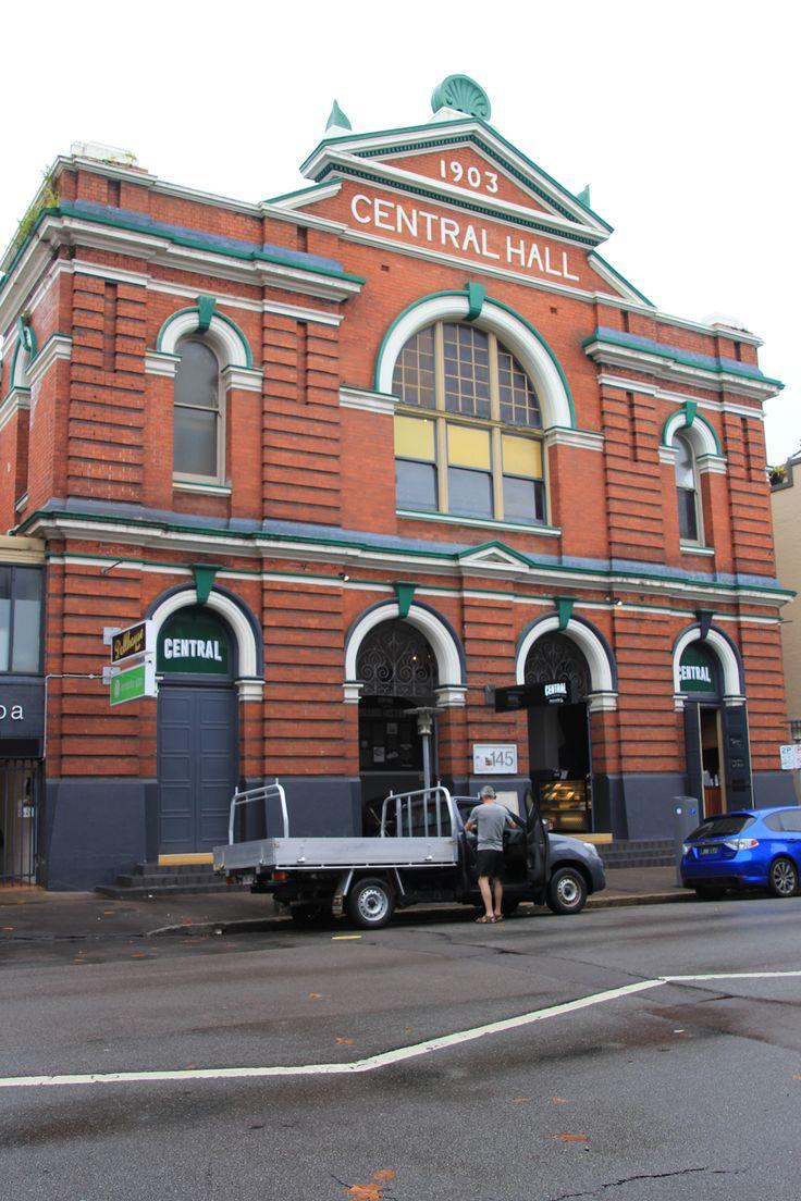 Former Methodist Church(1903), now used as a bar/restaurant in Newcastle, NSW AUSTRALIA.