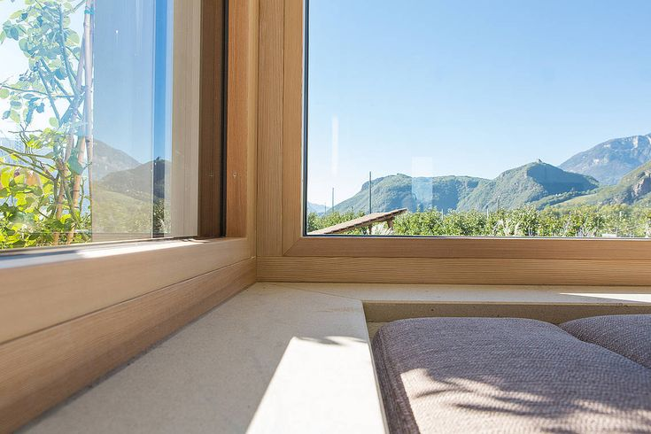 Referenzen | Holzfenster, Holz-Alu-Fenster | Heiss Fensterbau, Südtirol, Sarntal