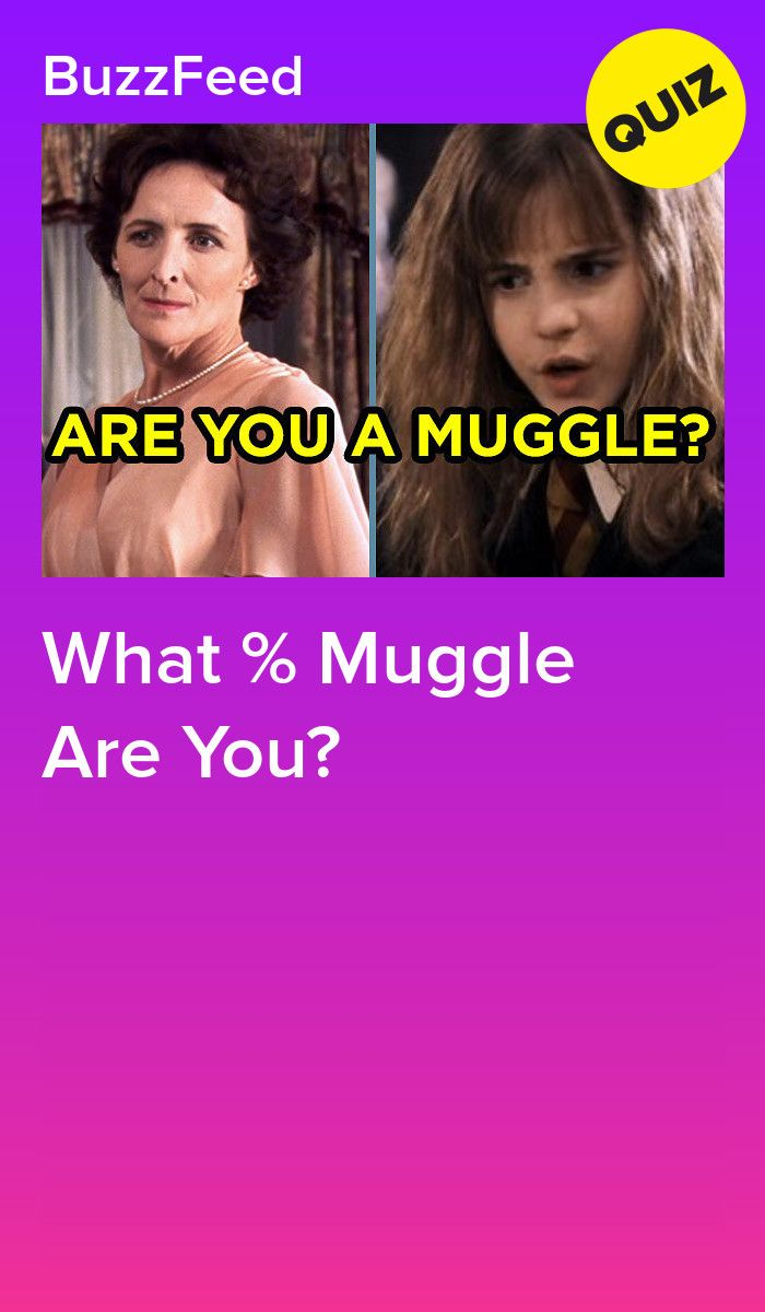What % Muggle Are You? | Quizzes | Pinterest | Harry potter