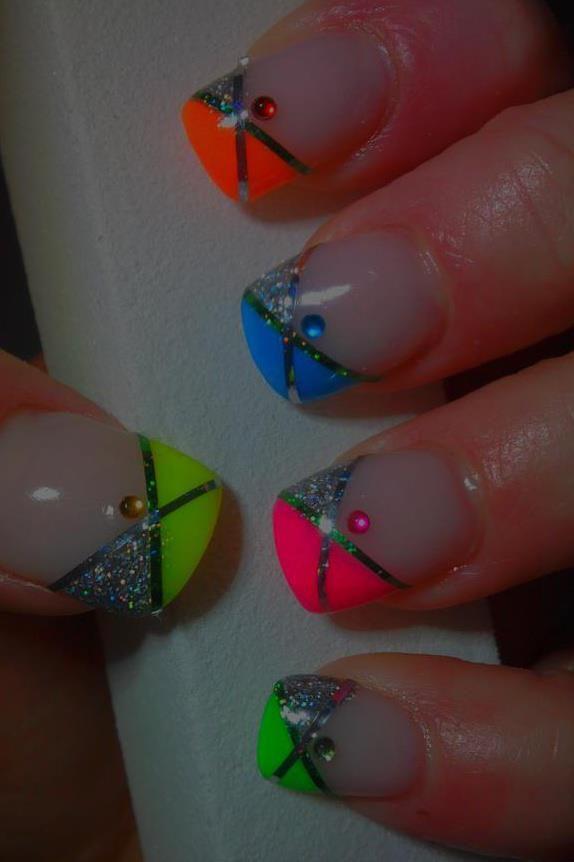 pretty tip nails