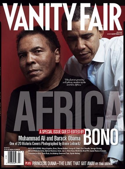 Muhammad Ali & President Barack Obama - Vanity Fair